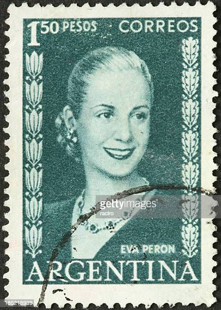 eva peron, former argentine first lady - eva perón stock pictures, royalty-free photos & images