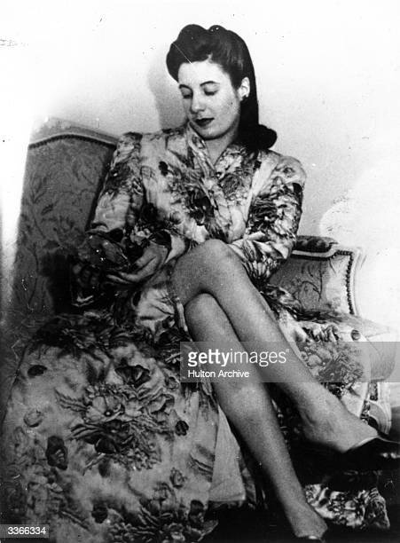 Eva Peron the wife of Argentinian Premier Juan Peron