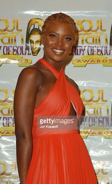 Eva Pigford during 10th Annual Soul Train Lady of Soul Awards Press Room at Pasadena Civic Auditorium in Pasadena California United States
