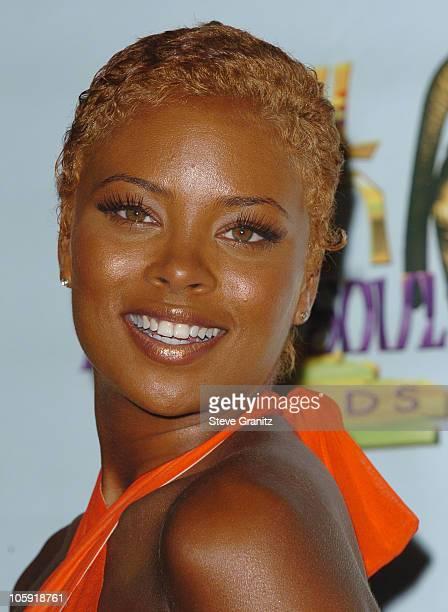 Eva Pigford during 10th Annual Soul Train Lady of Soul Awards Press Room at Pasadena Civic Center in Pasadena California United States