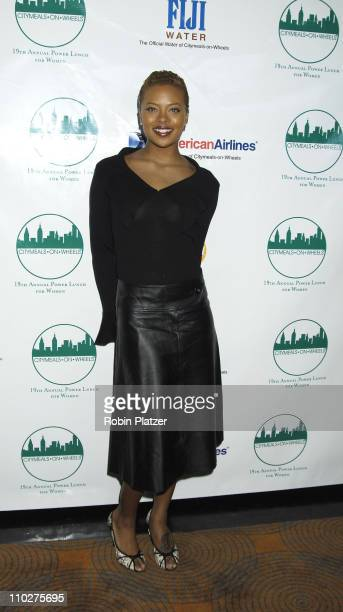 Eva Pigford during 19th Annual CitymealsonWheels Power Lunch for Women Arrivals at The Rainbow Room in New York City New York United States