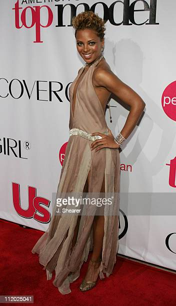Eva Pigford during America's Next Top Model Season Three Finale Party at Ivar in Hollywood California United States