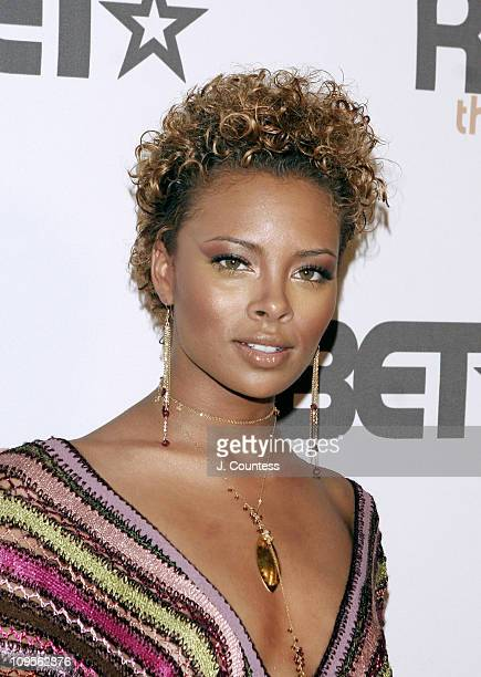 Eva Pigford during BET's Rip the Runway Fashion Show Arrivals at Roseland in New York City New York United States