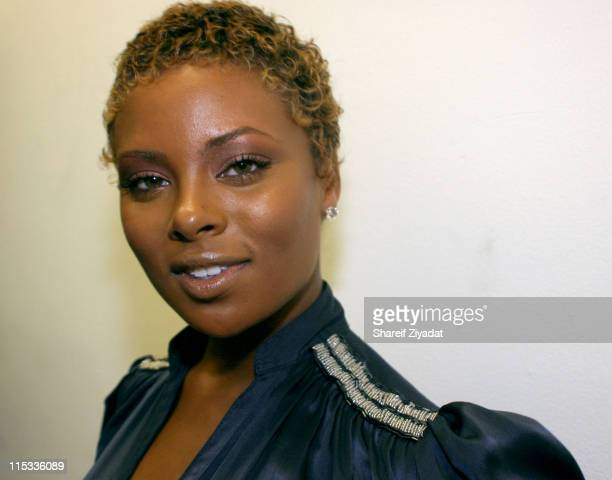 Eva Pigford during Launch Party to Celebrate NBA AllStar Dwyane Wade and His New Converse Signature Shoe 'Wade' at SplashLight Studios in New York...
