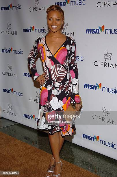 Eva Pigford during Mariah Carey's Album Release Party for The Emancipation of Mimi at Ciprianis 5th Avenue in New York City, New York, United States.