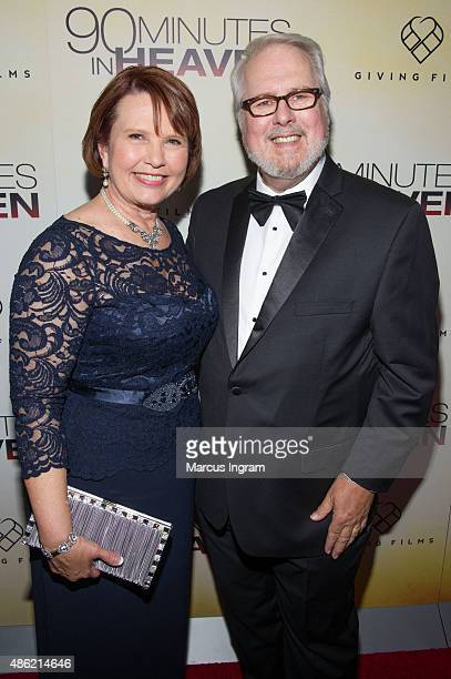 Eva Piper and Don Piper attend '90 Minutes In Heaven' Atlanta premiere at Fox Theater on September 1 2015 in Atlanta Georgia