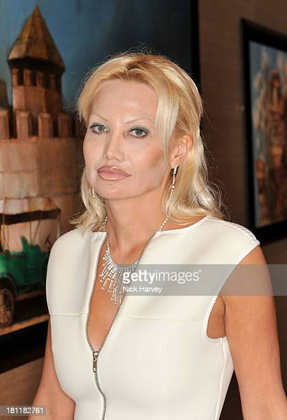 Eva Potel attends the Nina Naustdal Runway show following London Fashion Fashion Week SS14 at The Mayfair Hotel on September 19 2013 in London England