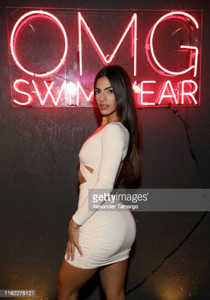 Eva Quiala attends the OMG Swimwear Influencer Dinner on July 15, 2019 in Miami, Florida.