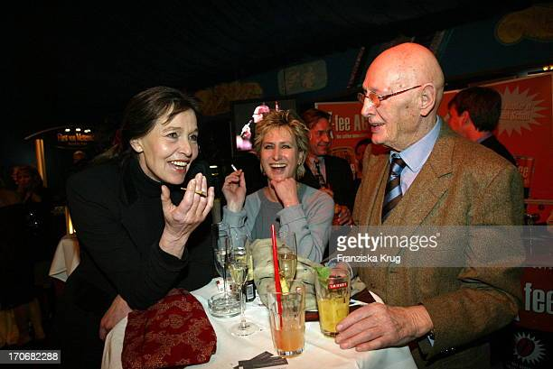 Eva Renzi Schauspielerin Beatrice Richter Schriftsteller Wolfgang Menge Beim Neujahrsempfang Von Der Berliner Zeitung Berliner Kurier Im Pomp Duck...