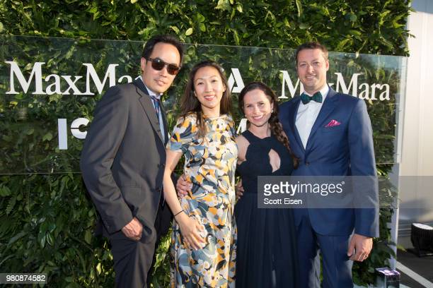 Eva Respini Barbara Lee Chief Curator of ICA Diana Thater and Maria Giulia Maramotti Max Mara Vice President of US Retail and Global Brand Ambassador...