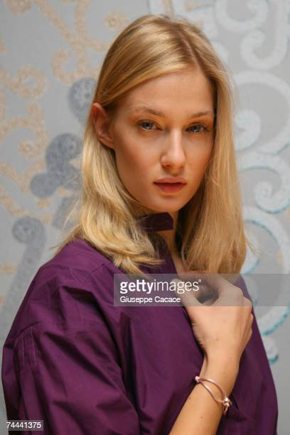 Eva Riccobono attends at the Cartier 'Love Day' charity in event in Cartier Boutique on June 8 2007 in Milan Italy