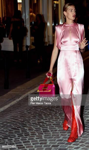 Eva Riccobono attends the Fashion Film Festival Milano Awards Ceremony on September 25 2017 in Milan Italy