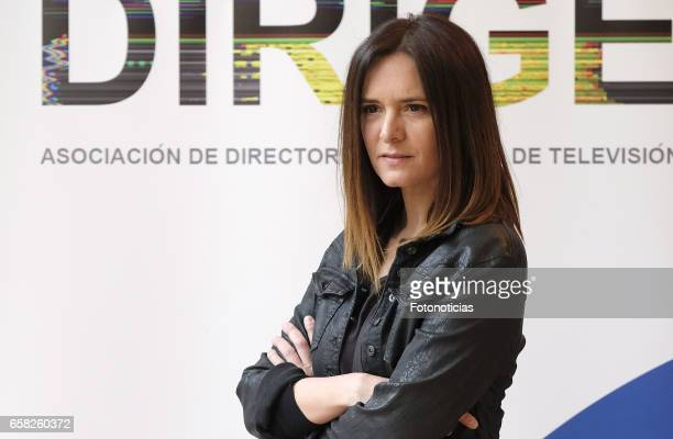 Eva Santolaria attends the 'Dirige' photocall at the SGAE on March 27 2017 in Madrid Spain