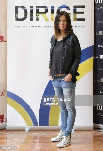Eva Santolaria attends the 'Dirige' photocall at the SGAE on March 27, 2017 in Madrid, Spain.