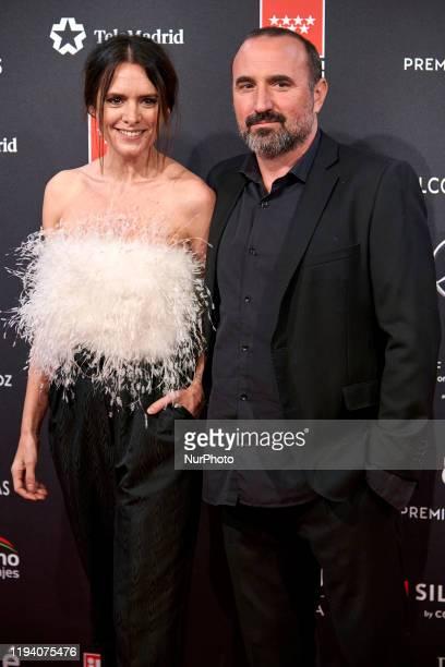 Eva Santolaria attends the 'FEROZ' awards 2020 Red Carpet photocall at Teatro Auditorio Ciudad de Alcobendas in Madrid, Spain on Jan 16, 2020