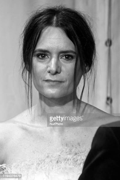 Eva Santolaria attends the 'FEROZ' awards 2020 Red Carpet photocall at Teatro Auditorio Ciudad de Alcobendas in Madrid Spain on Jan 16 2020