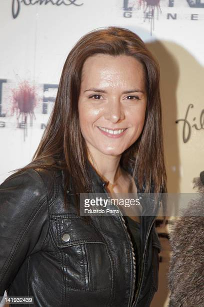 Eva Santolaria attends the 'REC 3 Genesis' premiere at Capitol cinema on March 26 2012 in Madrid Spain