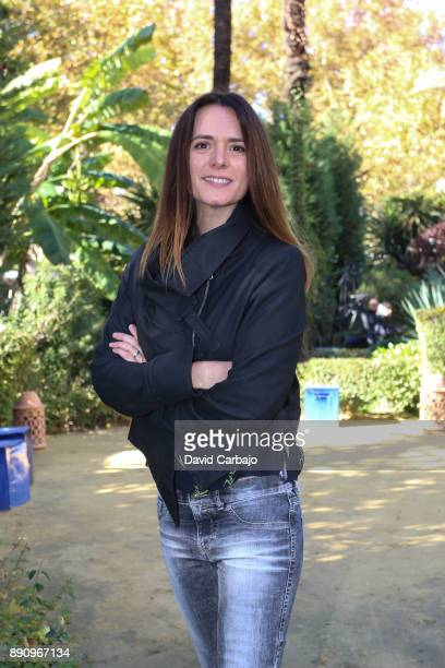 Eva Santolaria attends the reception to the Ondas Awards 2016 winners press conference at the Alfonso XIII on December 12 2017 in Seville Spain