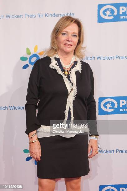 Eva SchollLatour attends the Ulrich Wickert and Peter SchollLatour award at Bar jeder Vernunft on September 27 2018 in Berlin Germany