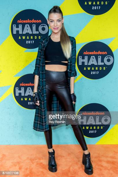 Eva Shaw attends the 2017 Nickelodeon Halo Awards at Pier 36 on November 4 2017 in New York City