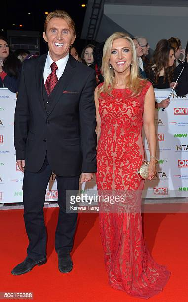 Eva Speakman and Nik Speakman attend the 21st National Television Awards at The O2 Arena on January 20 2016 in London England