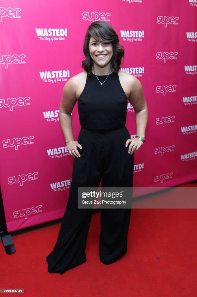 Eva Turrow Paul attends 'Wasted! The Story Of Food Waste' New York Premiere at Alamo Drafthouse Cinema on October 5, 2017 in the Brooklyn borough of New York City.