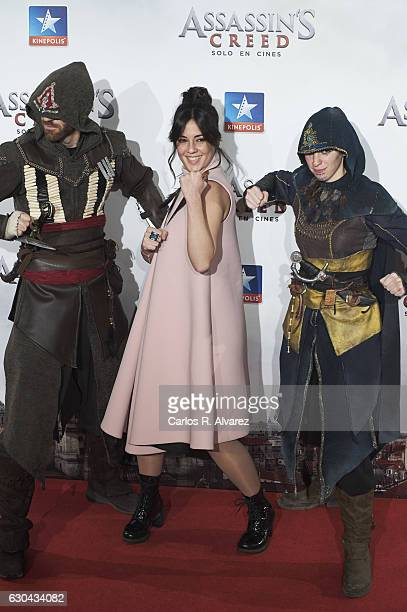 Eva Ugarte attends 'Assassin's Creed' premiere at Kinepolis cinema on on December 22 2016 in Madrid Spain