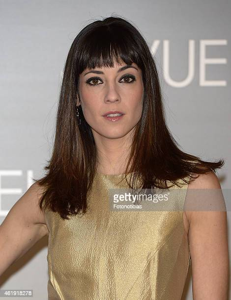 Eva Ugarte attends the 'No Llores Vuela' premiere at Callao Cinema on January 21 2015 in Madrid Spain