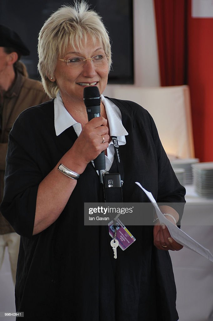 Eva Vezer attends the 'Producers On The Move' Luncheon at the The VIP Room during the 63rd Annual Cannes Film Festival on May 17, 2010 in Cannes, France.