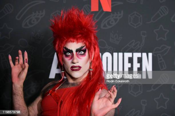 Evah Destruction attends Premiere of Netflix's AJ and the Queen Season 1 at the Egyptian Theatre on January 09 2020 in Hollywood California