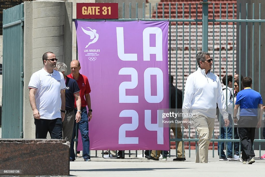 IOC Evaluation Commission & LA 2024 Tour Proposed Olympic & Paralympic Venues