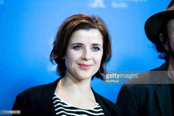 EvaMaria Lemke attends the 'The Breath'' photocall during the 69th Berlinale International Film Festival Berlin at Grand Hyatt Hotel on February 13...