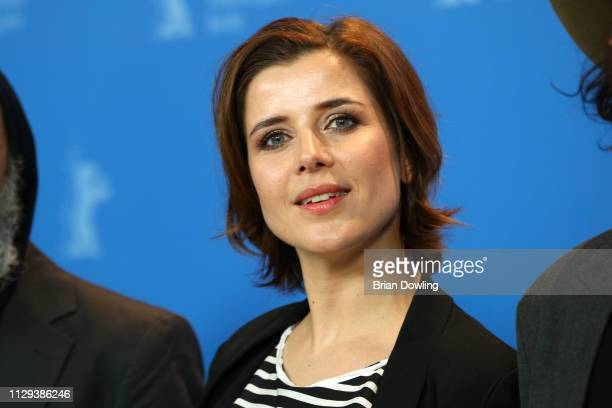 EvaMaria Lemke poses at the The Breath photocall during the 69th Berlinale International Film Festival Berlin at Grand Hyatt Hotel on February 13...