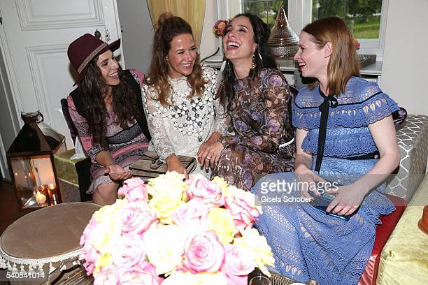 EvaMaria Reichert Alexandra Neldel Stephanie Stumph and Karoline Herfurth during the 'Triumph Maison Party' at Palais Nr 6 Schloss Nymphenburg on...