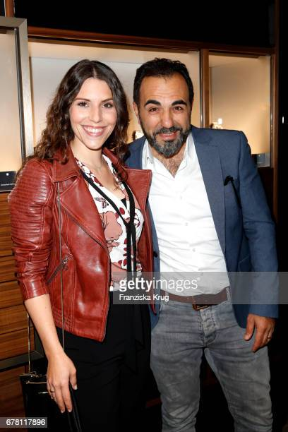 Eva-Maria Reichert and Adnan Maral attend the Montblanc spring party on May 3, 2017 in Munich, Germany.