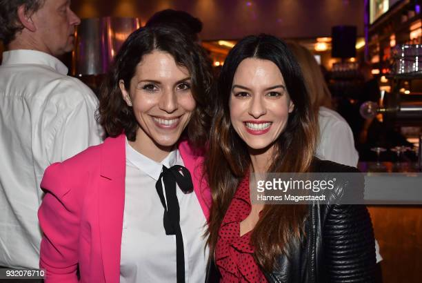 EvaMaria Reichert and Anna Lena Class during the NdF after work press cocktail at Parkcafe on March 14 2018 in Munich Germany