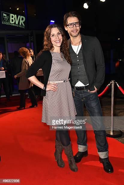 Eva-Maria Reichert and Florian Odendahl during the 5th German Director Award Metropolis at HFF on November 8, 2015 in Munich, Germany.
