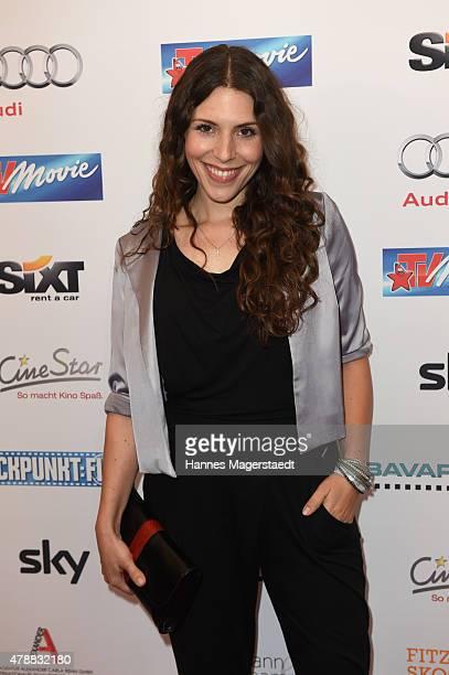 Eva-Maria Reichert attends the Audi Director's Cut at the Praterinsel during the Munich Film Festival at Praterinsel on June 27, 2015 in Munich,...