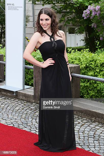 EvaMaria Reichert attends the 'Bayerischer Fernsehpreis 2013' at Prinzregententheater on May 17 2013 in Munich Germany