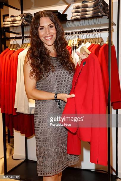 EvaMaria Reichert attends the Gerry Weber shop opening on September 14 2016 in Munich Germany