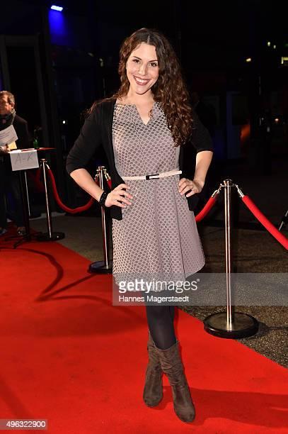 Eva-Maria Reichert during the 5th German Director Award Metropolis at HFF on November 8, 2015 in Munich, Germany.