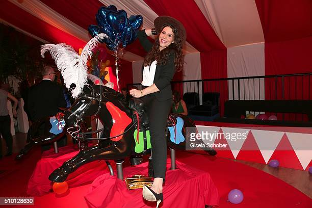 EvaMaria Reichert during the Bild 'Place to B' Party at Borchardt during the 66th Berlinale International Film Festival Berlin on February 13 2016 in...