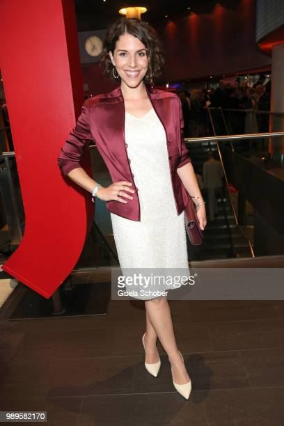 Eva-Maria Reichert during the opening night of the Munich Film Festival 2018 at Mathaeser Filmpalast on June 28, 2018 in Munich, Germany.