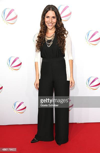 EvaMaria Reichert during the premiere of the film 'Die Udo Honig Story' at Gloria Palast in Munich on September 1 2015 in Munich Germany