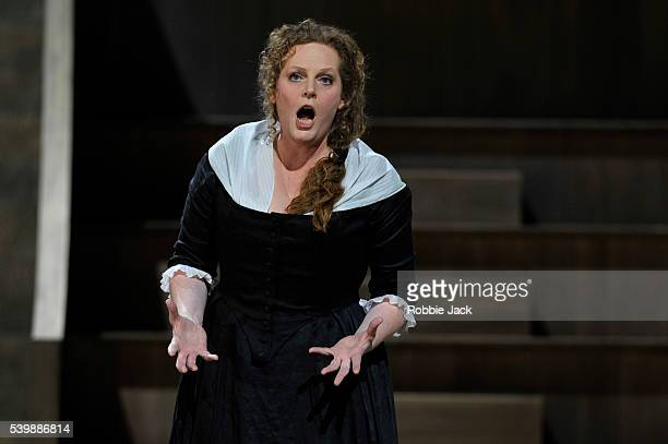 EvaMaria Westbroek as Maddalena de Coigny in the Royal Opera's production of Umberto Giordano's Andrea Chenier directed by David McVicar and...