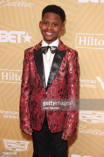 Evan Alex attends American Black Film Festival Honors Awards Ceremony at The Beverly Hilton Hotel on February 23, 2020 in Beverly Hills, California.