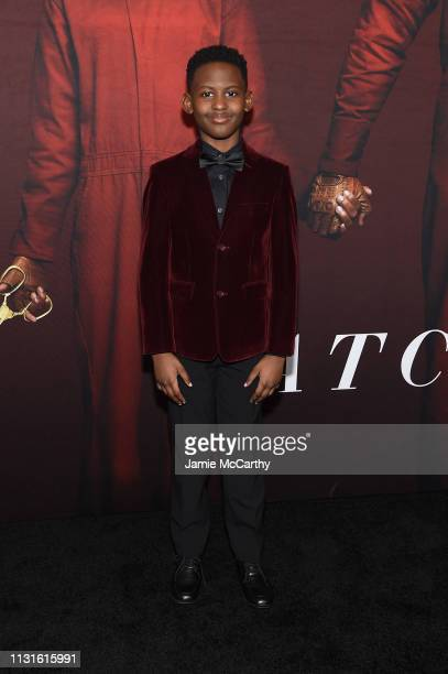 Evan Alex attends the 'US' premiere at Museum of Modern Art on March 19 2019 in New York City