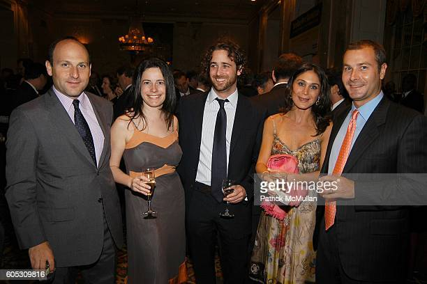 Evan Behrens Dahlia Loeb Sam Kim Schrader and David Schrader attend PROJECT SUNSHINE Spring Gala Dinner honoring Billy Macklowe at Waldorf Astoria on...