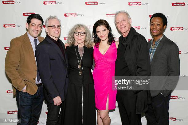 Evan Cabnet Donald Margulies Kathryn Grody Diane Davis Mark Blum and Hubert PointDu Jour attend the opening night after party for The Model Apartment...