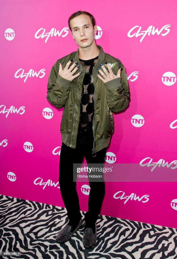Evan Daigle attends the premiere of TNT's 'Claws' at Harmony Gold Theatre on June 1, 2017 in Los Angeles, California.